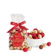 크리스마스 밀크 초콜릿 호일볼